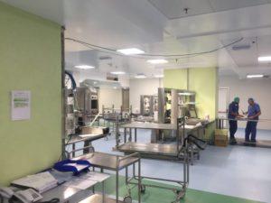 Reparto di sterilizzazione Policlinico Gemelli