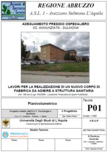 Ampliamento Ospedale di Sulmona